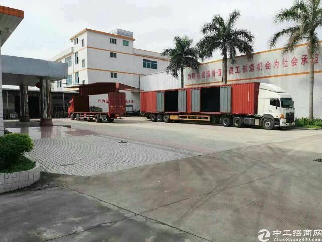 广州市105国道国道边上白云厂房仓库出租证件齐全可分租