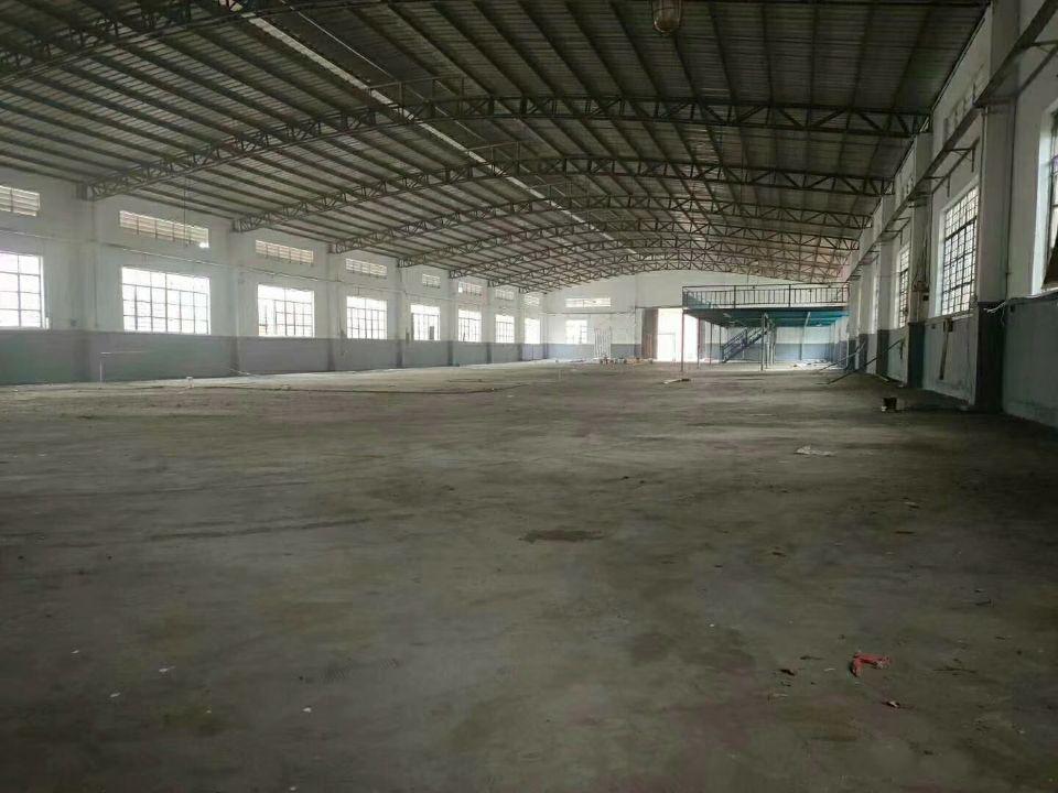 万江简沙洲新出单一层厂房2400平方滴水八米高,可架行车