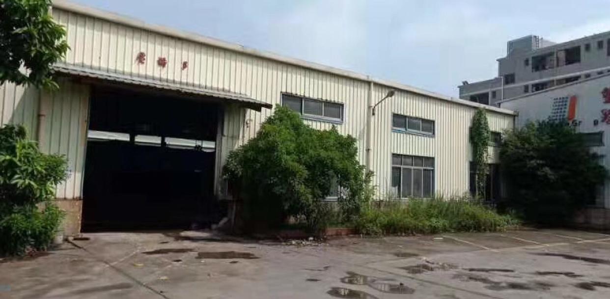 独门独院带牛角钢构厂房出租