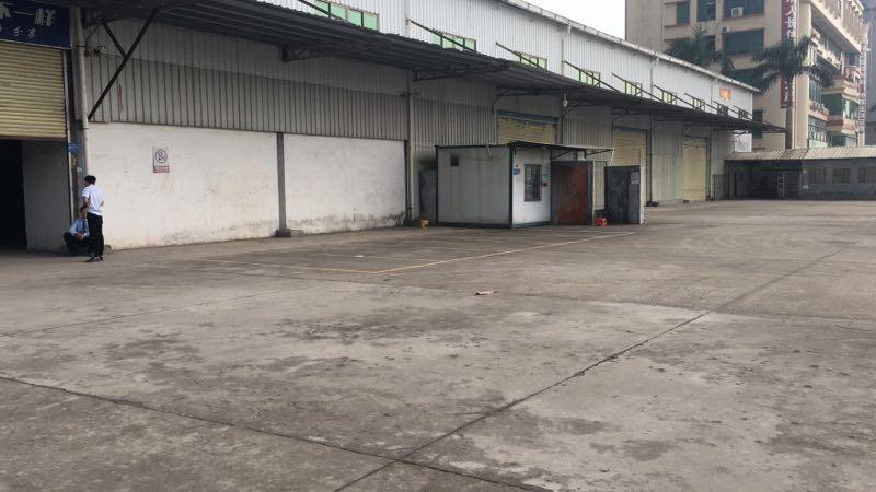 太和镇广纵路边10000方单层厂房出租,可做卖场