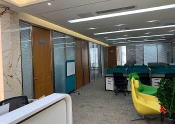 出租龙岗中心城350平豪华装修带家私办公室图片1