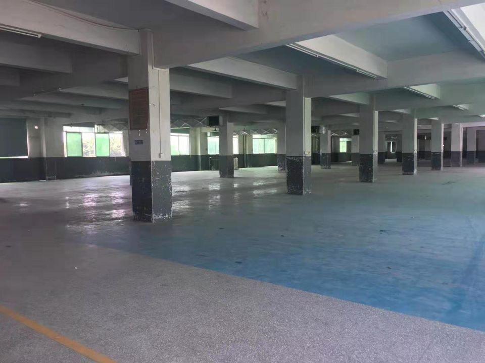 天河吉山标准厂房3000方金刚砂地面可分租-图3