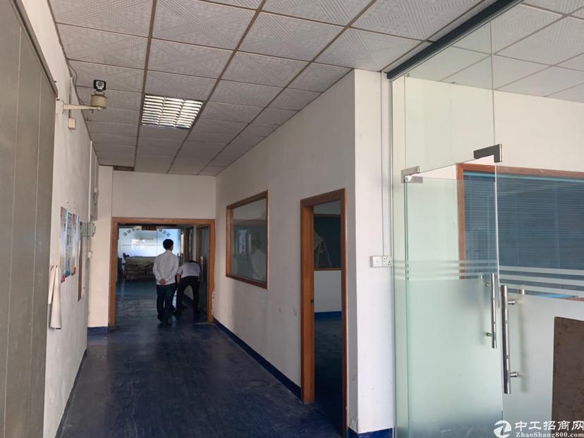 福永新出地铁口附近带办公室豪华装修无转让费厂房出租