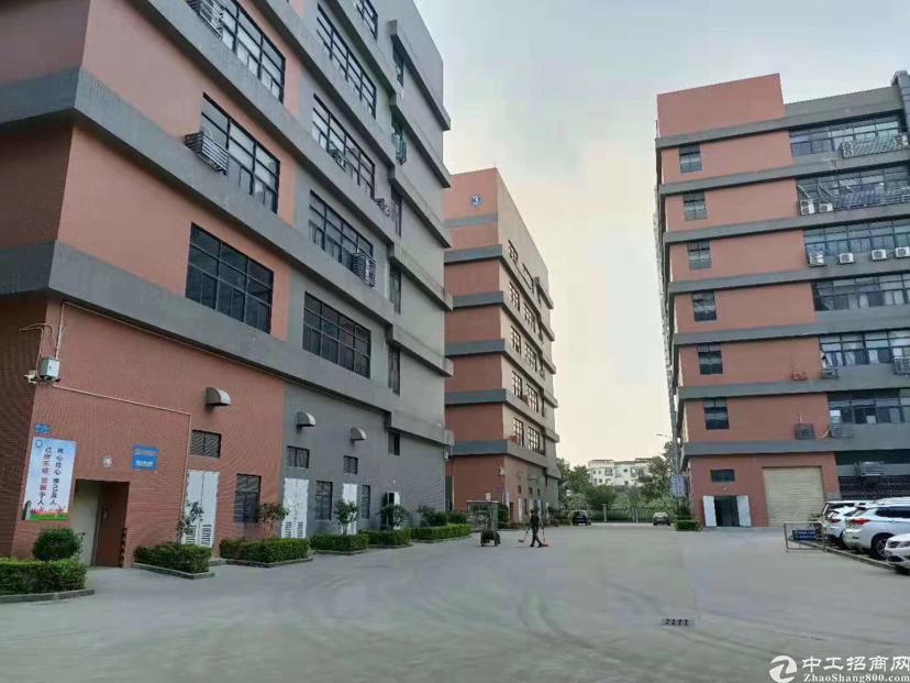 谢岗外资企业花园式两层厂房出售.空地超大.占地8333平