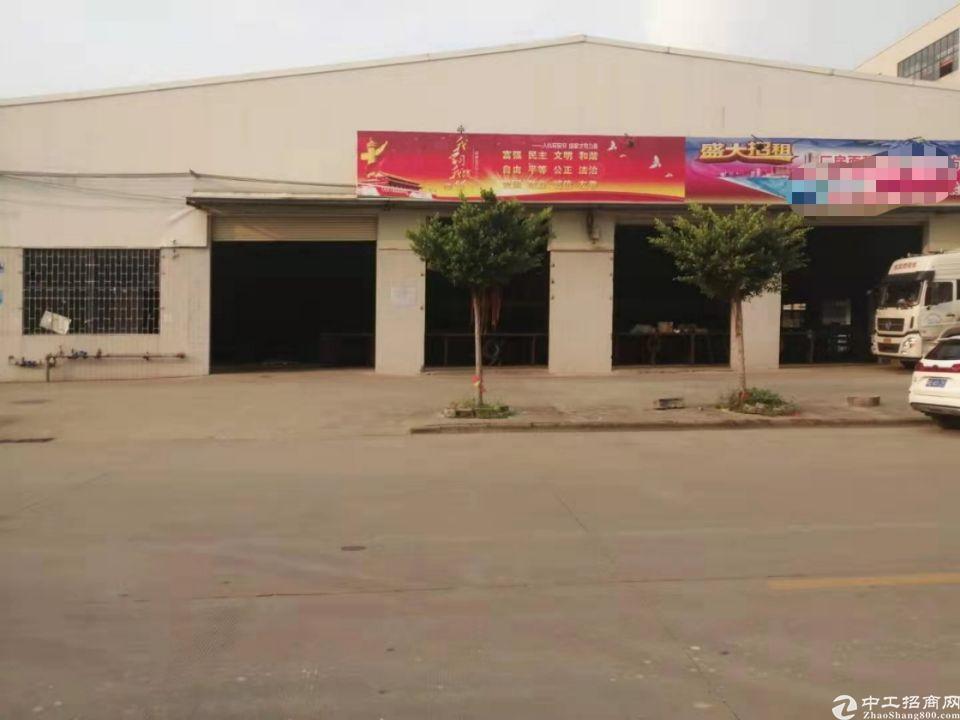 钟村高速出口新出1500平方仓库空地超大