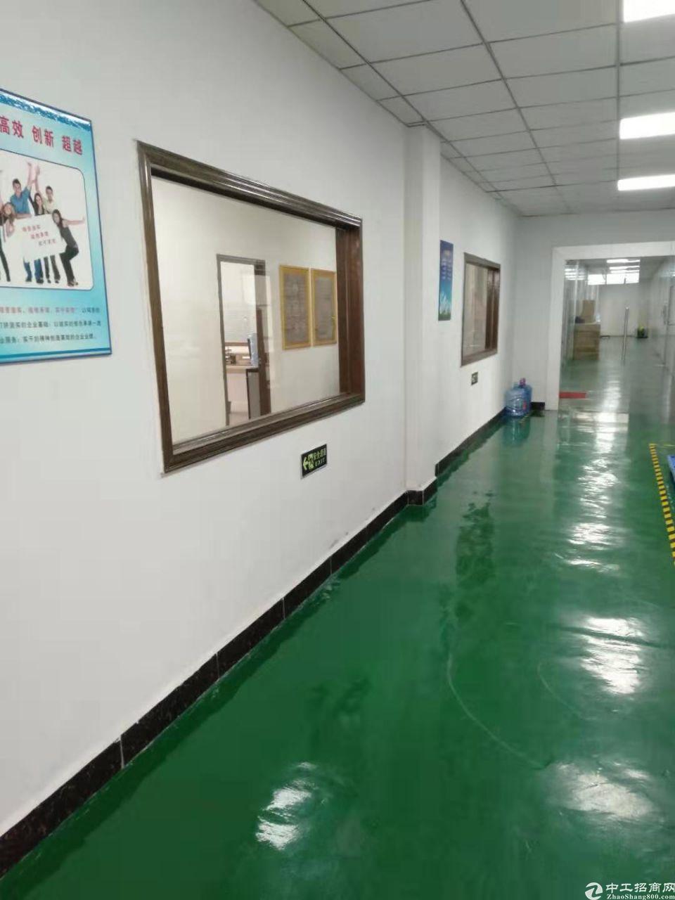 樟木头镇石新管理区新出三楼带装修厂房1000平方出租