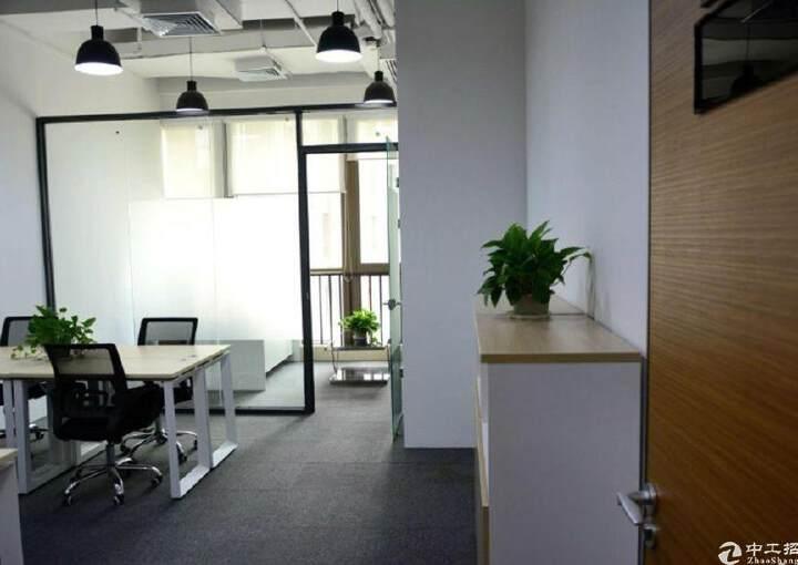 光明精装修办公室出租带红本大小面积可分租图片8