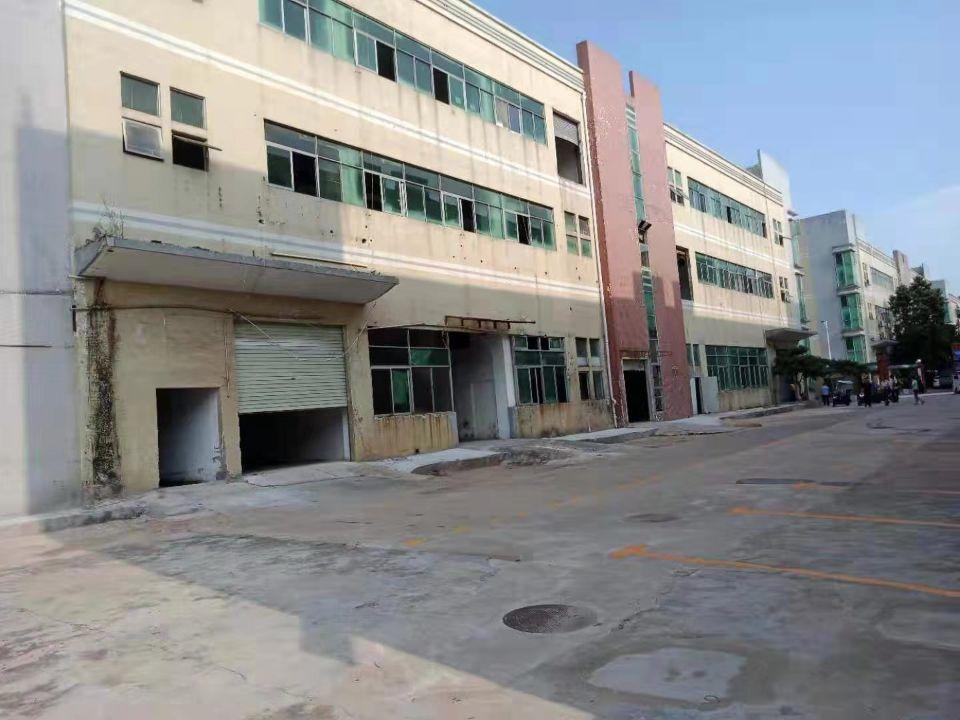 西乡黄田107国道边工业园楼上标准厂房900平方出租