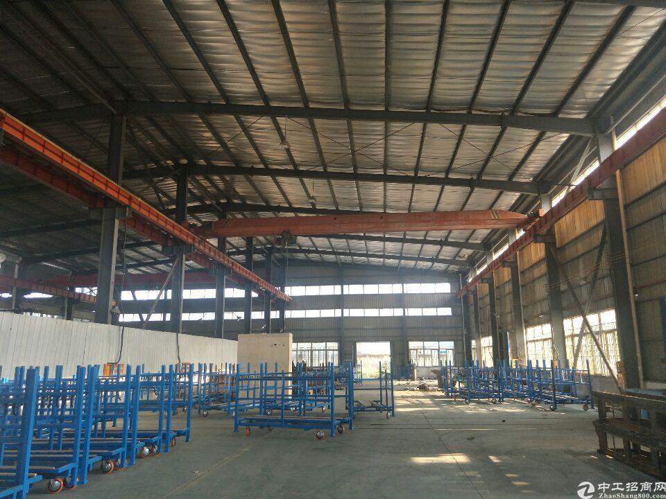 金银湖厂房1007平米。带行车五吨配电250KVA环氧地坪。