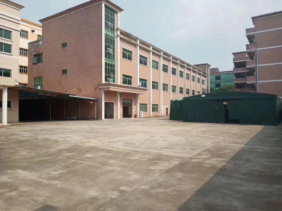 樟木头靠黄江一楼标准厂房750精装出租。
