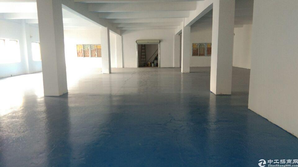 长安中心楼上760平,带办公室全新地坪漆,2吨货梯