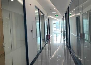 福永同泰时代广场105平方写字楼精装修有空调图片1