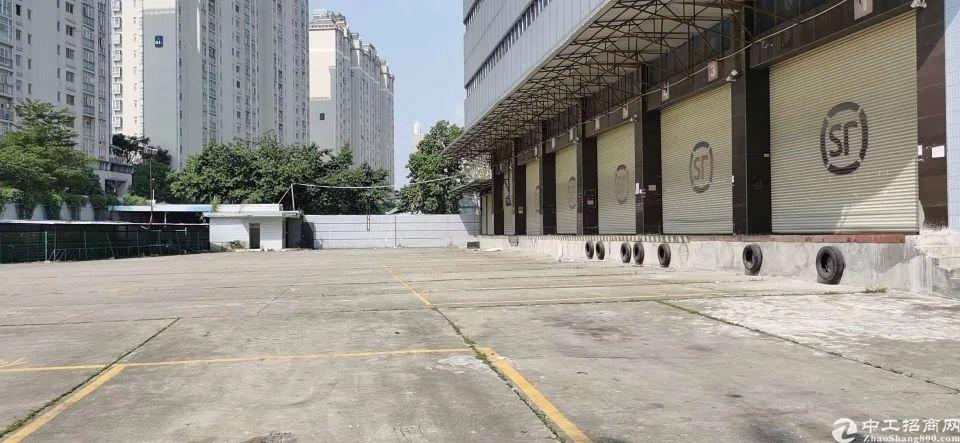 福永带卸货平台标准物流仓库出租