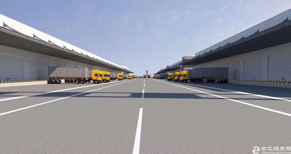 新出钢构物流仓17000方,丙二类消防,18个卸货平台