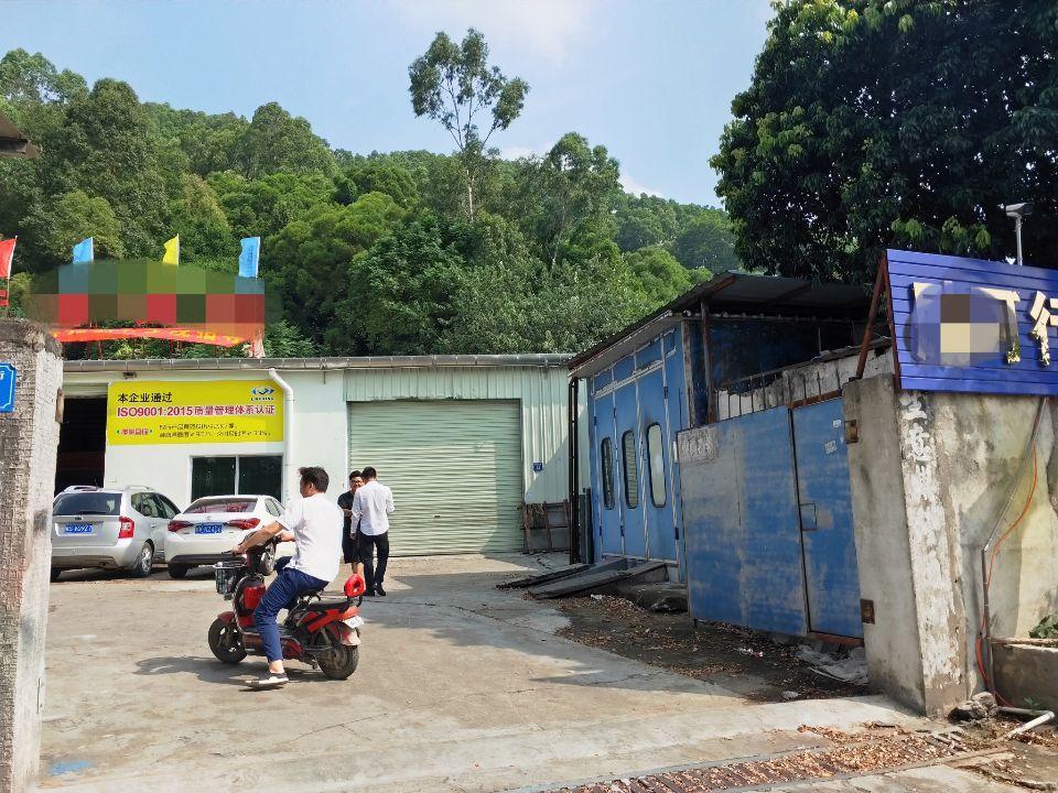 长安厦岗独院钢构800平,可做废铁打包,仓库等大部分行业