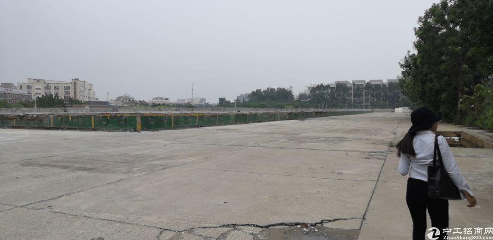 嘉禾池铁囗附近新出己硬化好的空地16000平适合停车场充电桩