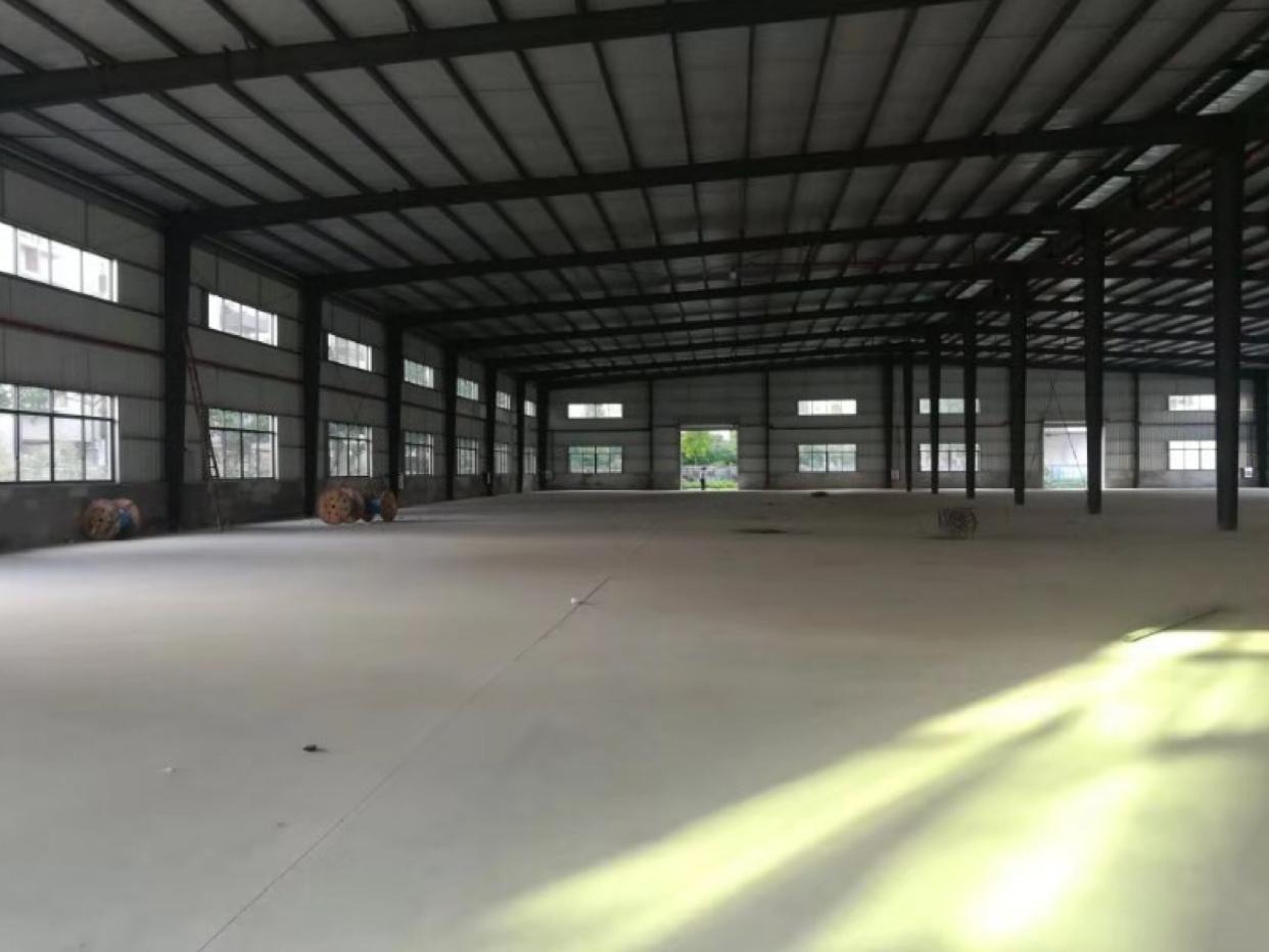 国有证工业厂房出售:占地15亩,厂房8900平方滴水9米