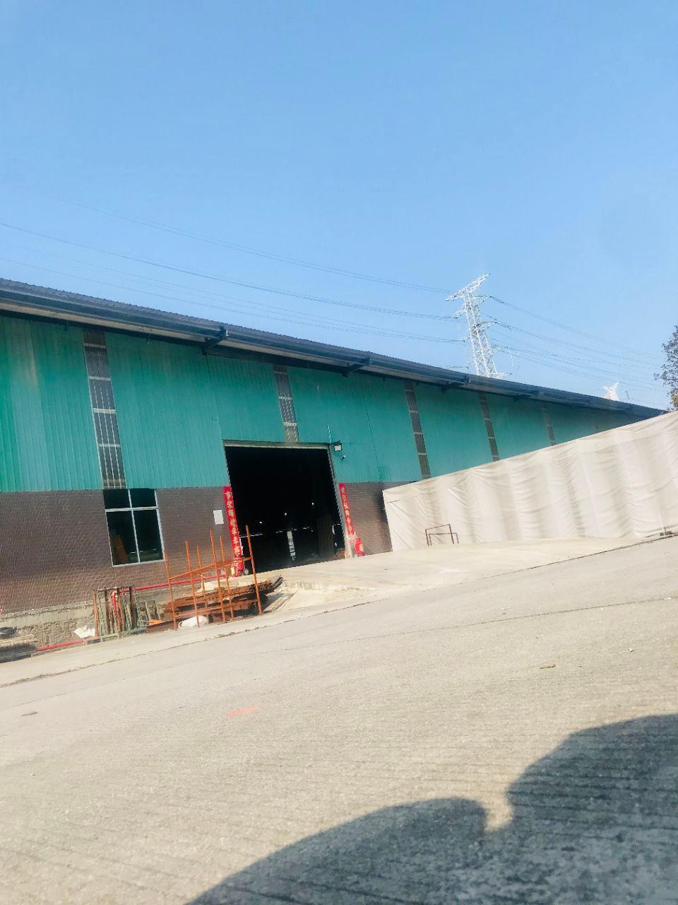 广州市独院单一层厂房招租,空地超大