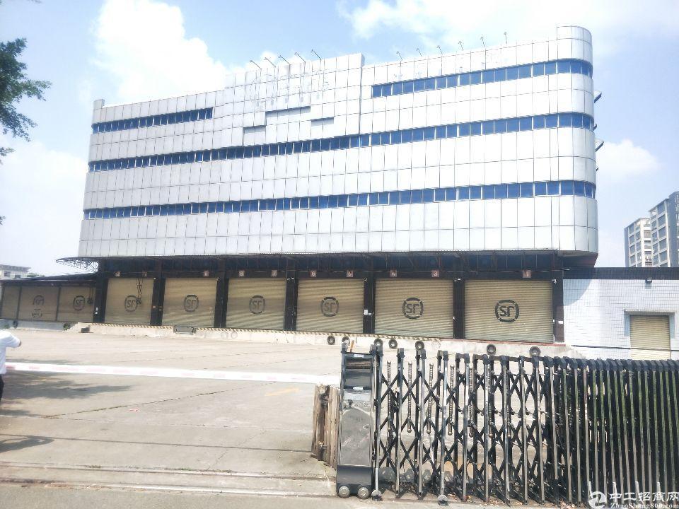 福永107国道旁机场附近新出独院厂房带卸货平台物流仓库出租
