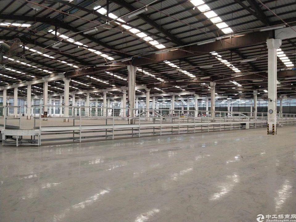 谢岗镇23000平方花园式单一层独院仓库出租:厂房18000