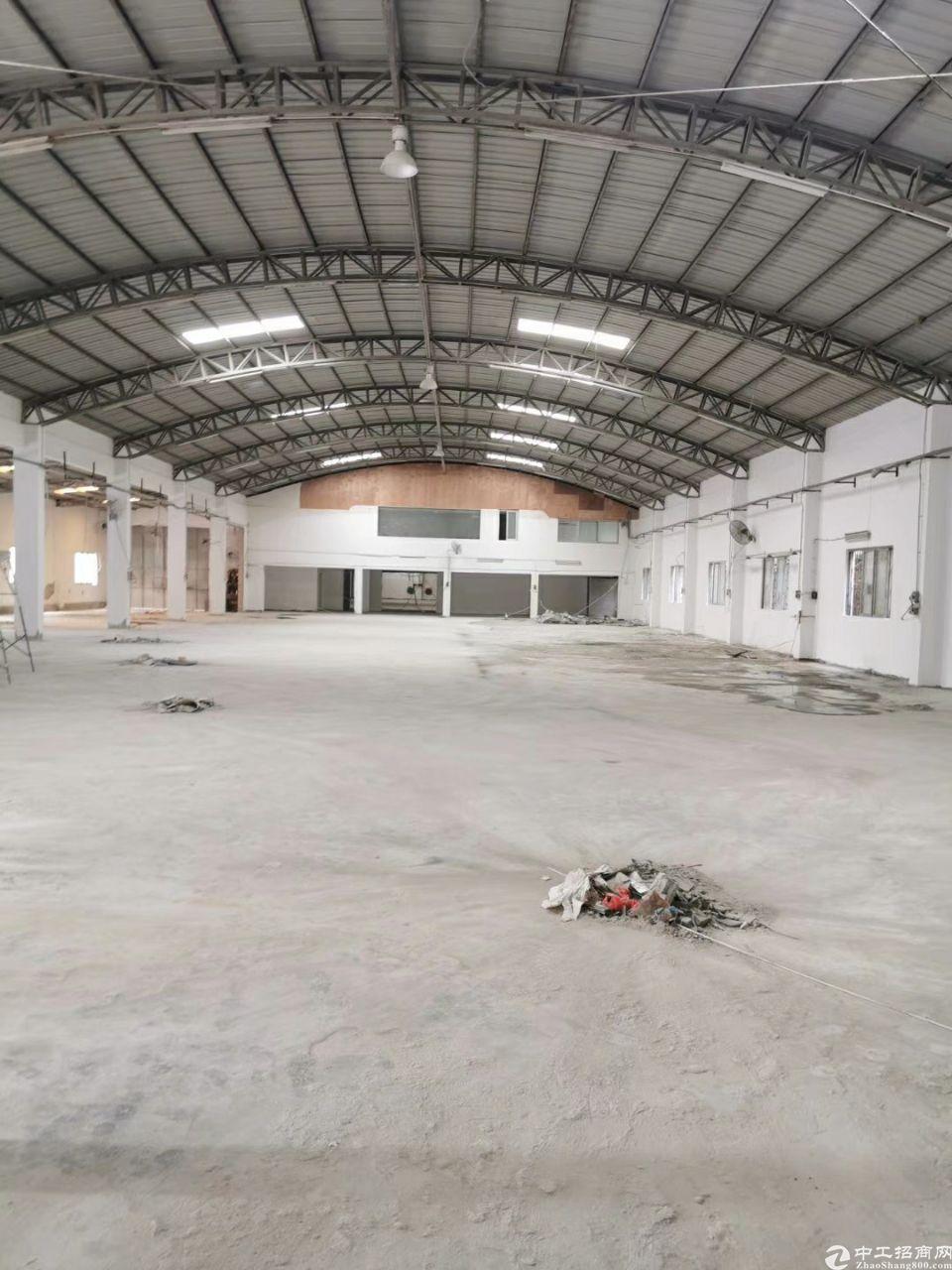 东城温塘工业区内新岀3500平方仓库,可分租