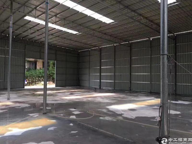 黄埔区穗东街道钢构仓库870平米招租