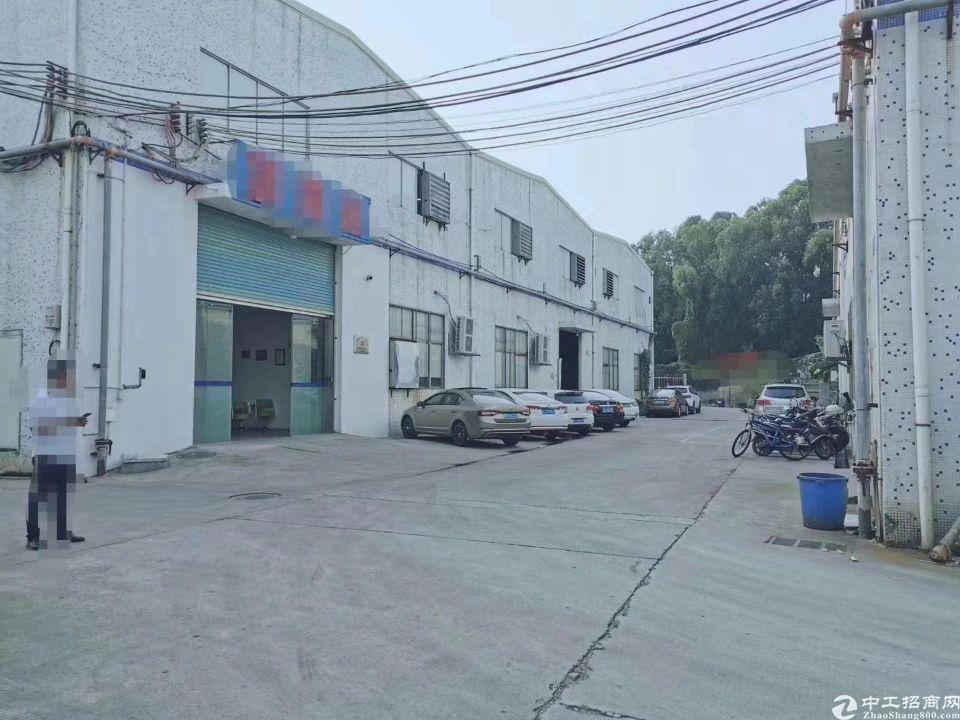 大朗镇独院钢构厂房3000平带现成航车租20元