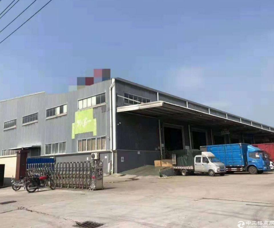 新空出一层带月台仓库出租13000平米