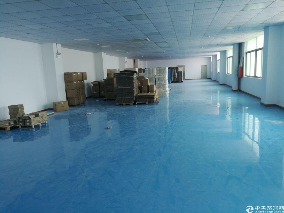 龙岗中心城精装修二楼电梯厂房1800平方招租