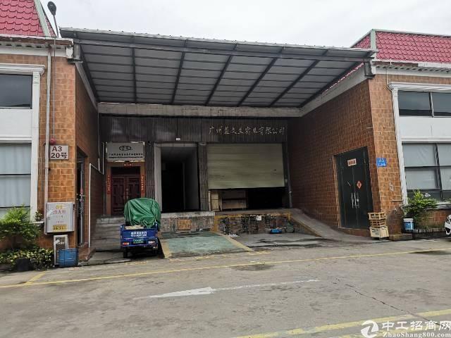 黄埔经济开发区鱼珠茅岗路新出一楼标准厂房仓库260平出租