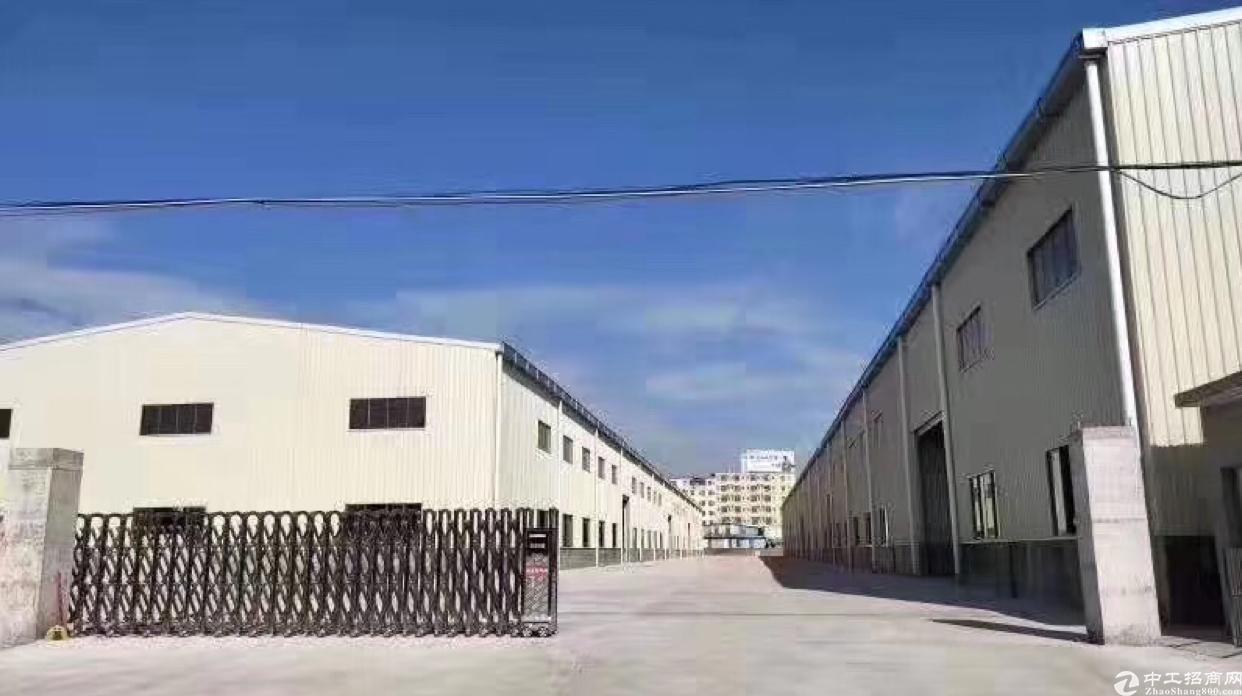 永和经济开发区独院单一层厂房8500平出租,带卸货平台