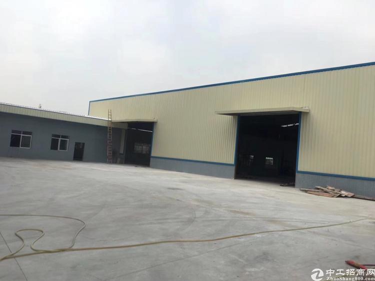 洪梅仓库厂房招租5000平米8米高好进拖头空地大近高速路口