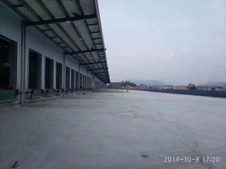 深圳沙井高速路口附近新出物流仓库54000平方厂房出租