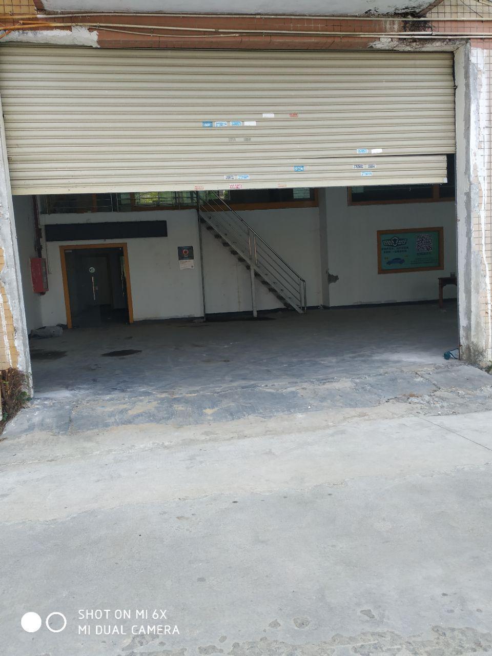 西乡固戍宝安大道旁工业园一楼标准厂房300平方出租