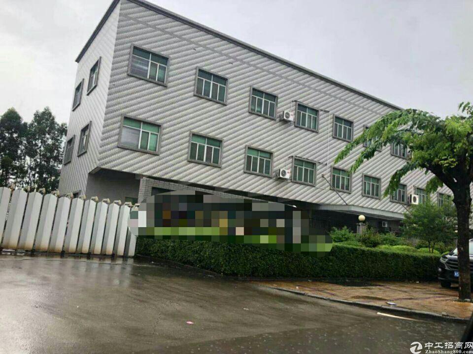 广州花都镇中心稀缺5500平红本厂房出售