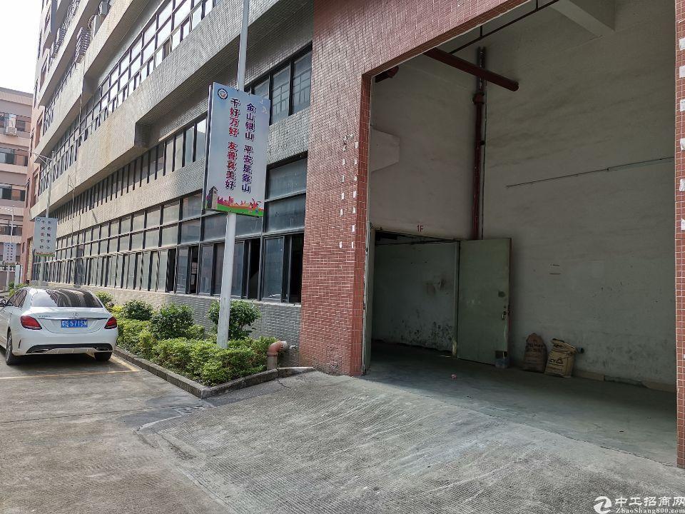 凤岗东深二线旁新出一楼2600平方带牛角厂房