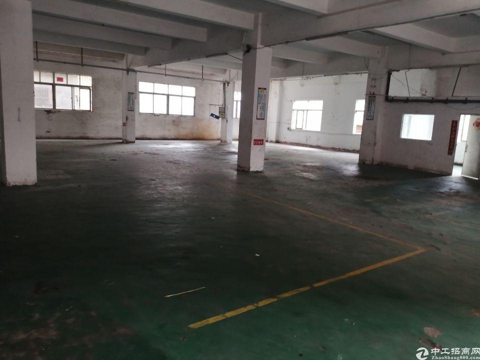 横岗永湖地铁口新出原房东独院厂房1-3层2200平方