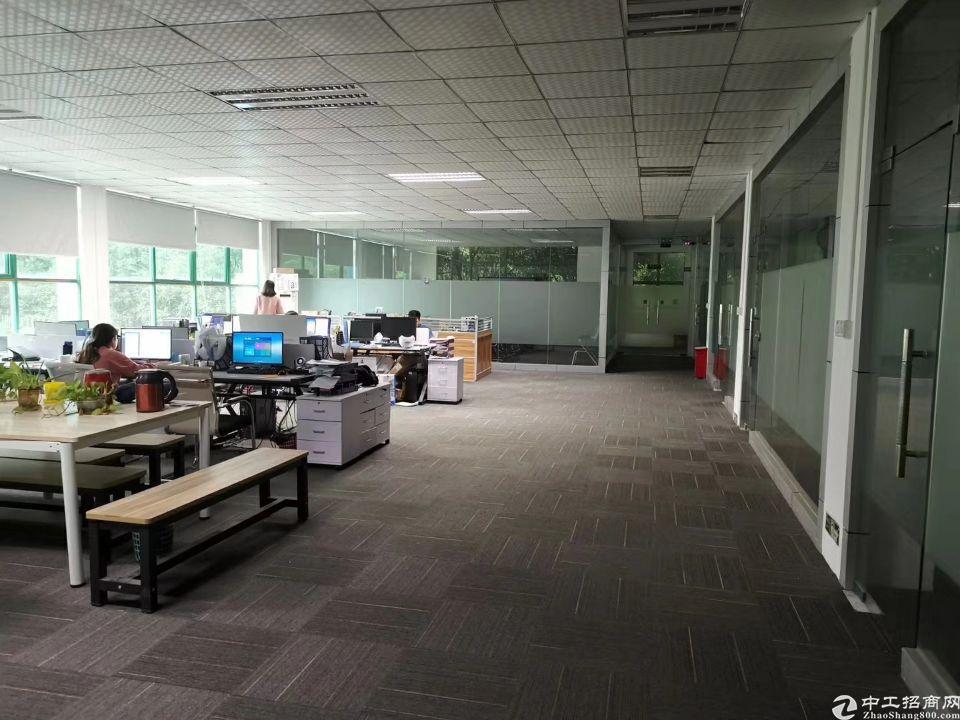 福永107国道独栋厂房1-2层1500平出租带精装修-图2