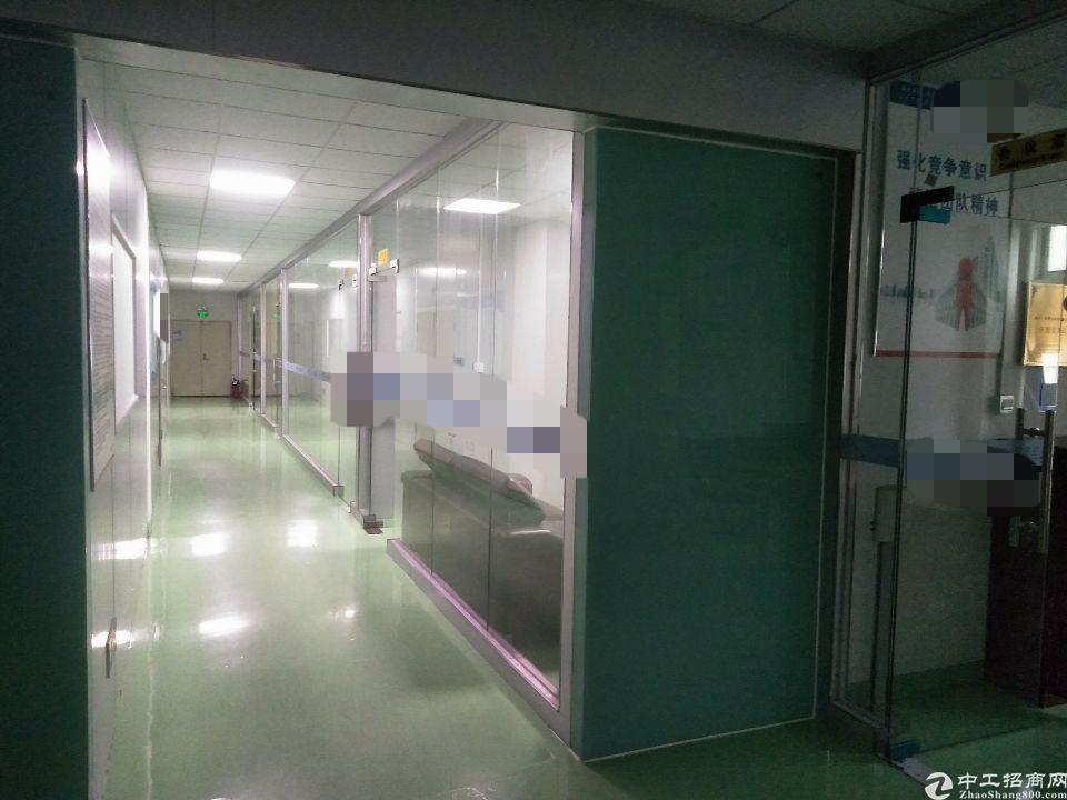 宝安福永地铁口500米,大型工业区楼上800平,现成装修