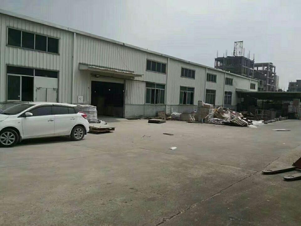 清溪镇新出单一层钢结构厂房980平方,层高9米