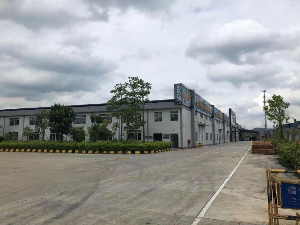 投资自用首选、东莞超长62年厂房,九成新滴水9米