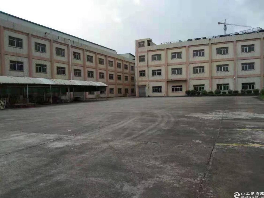 信息源,广东厂房出租23,000平米,大小可以分租有红本。