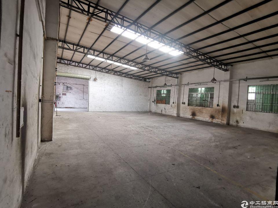 横沥镇工业园区原房东3000平方独门独院厂房出租可分租