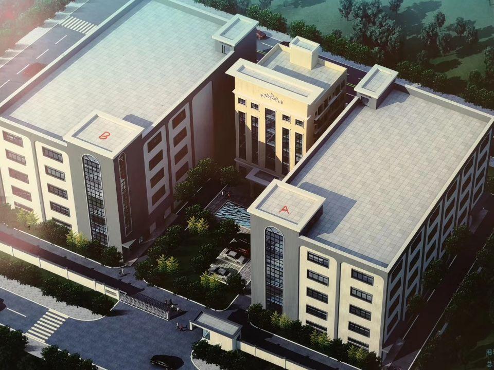 园洲镇寮仔工业区,新建独院厂房宿舍办公楼3万平方