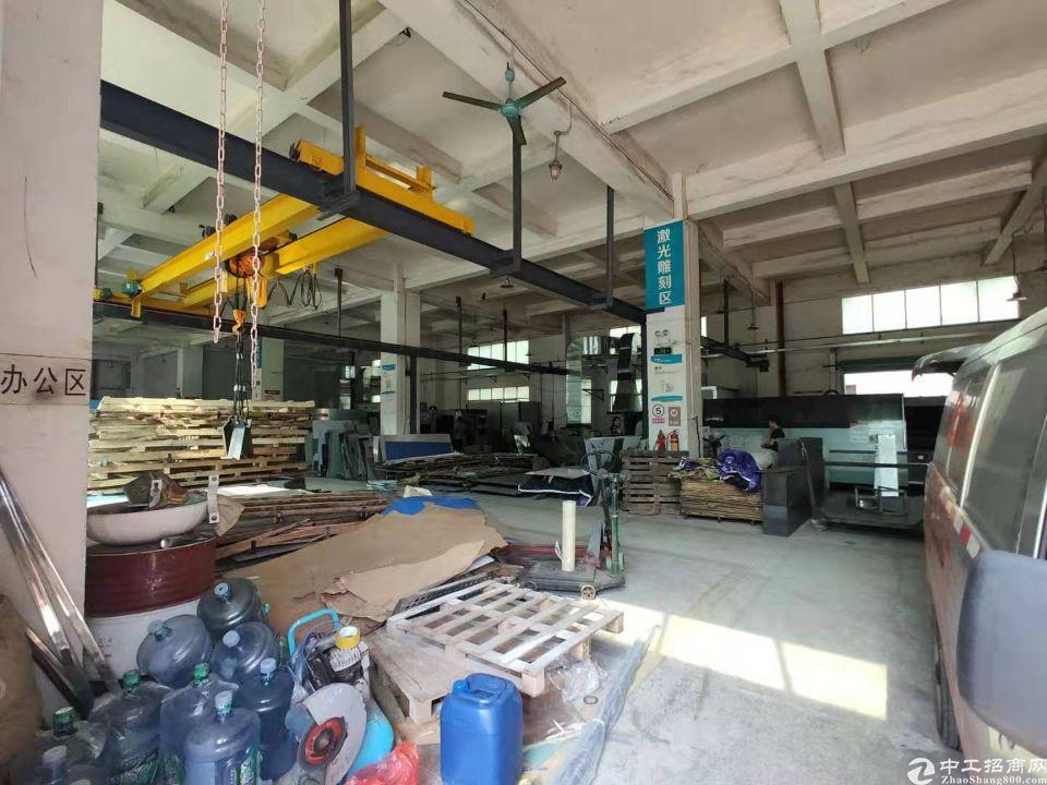 龙华龙胜地铁站一楼精装带阁楼1500平,水电到位-图4