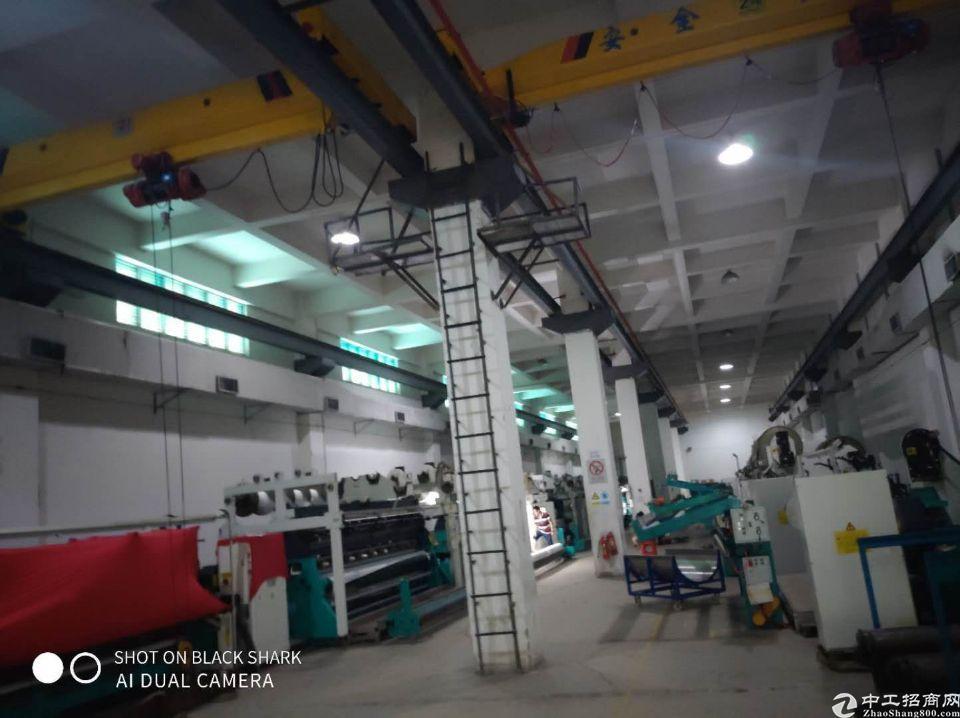 坪山重工业园区一楼5000平高9.8米带现成航车
