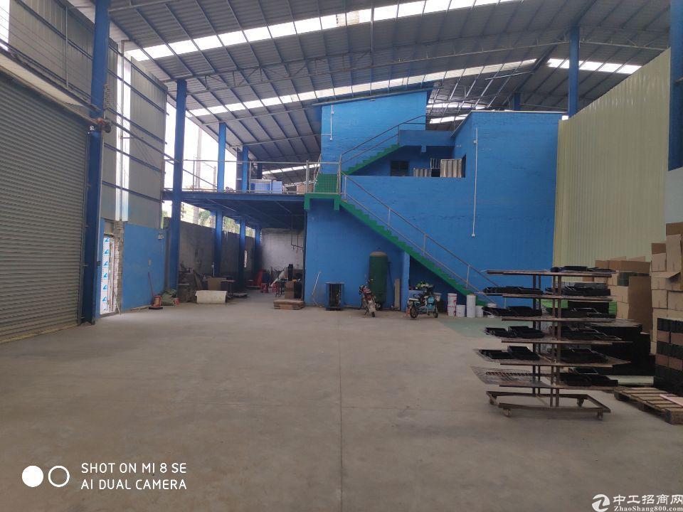 炭步工业园独门独院钢构厂房面积1500平,临近主干道