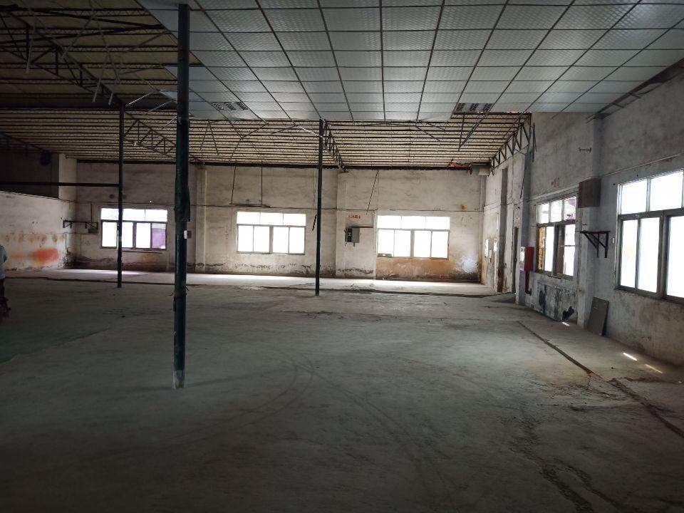 长安厦边省道边1200平方带充电桩钢构厂房出租