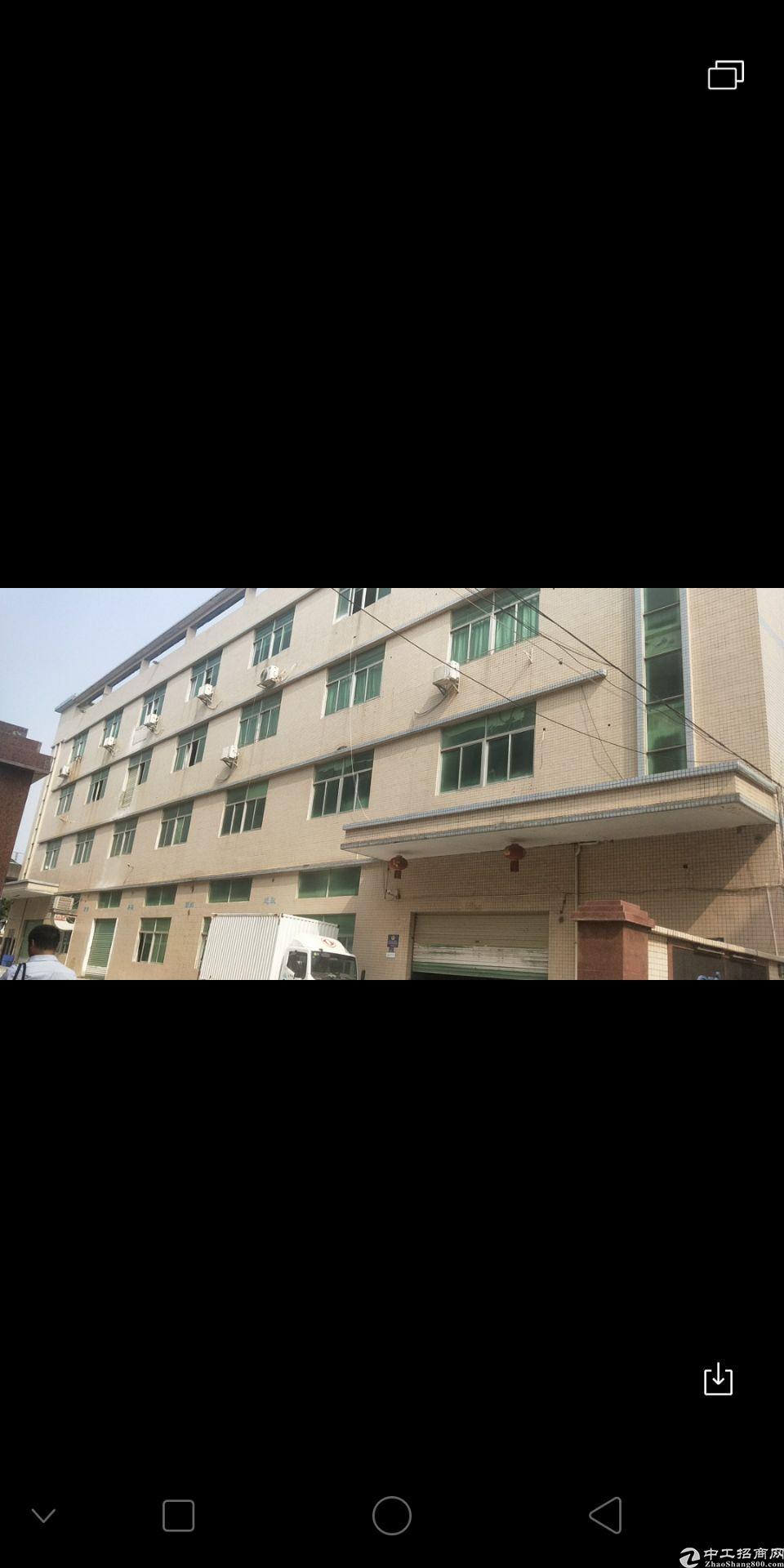公明新出独院厂房1-4层,4800平方,宿舍24间,120