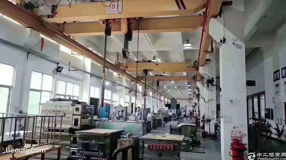 福永沿江高速出口模具厂招租一楼面积3000平米带行车,高七米